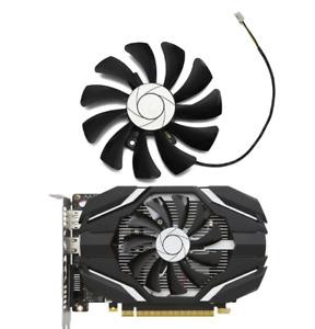 Fan For MSI GTX 1050 Ti 2G 4G Replacement GPU Cooler Fan 85mm 2 pin HA9010H12F-Z