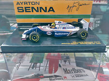 "1/43 Minichamps Williams FW16 Ayrton Senna ""Rothmans"" Brazilian GP"