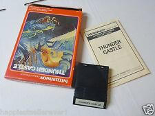 Complete Intellivision Thunder Castle Intellivision Video Game System #HG1