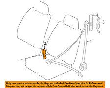 TOYOTA OEM 98-02 Corolla Front Seat Belt-Buckle 7323002020C0