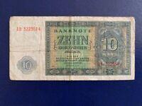 GERMANY - 10 MARK 1948 -  VERY FINE/3/
