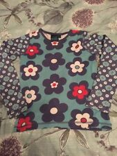 Mini Boden Girls' Floral Long Sleeve Sleeve T-Shirts & Tops (2-16 Years)