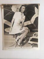 Vintage Studio Photo Laurie Douglas 1941 Hollywood Glamour