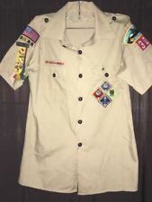 Cub Scout Uniform Shirt - Webelos Patches, Ribbons and Pins - Boy Scouts BSOA
