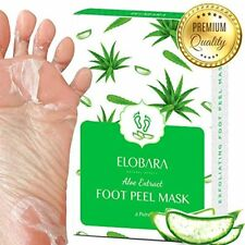 Foot Peel Mask, Exfoliating Calluses and Dead Skin for Soft Baby Feet, 2 Pairs,