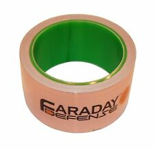 "Copper Foil Joint Tape 2"" x 30ft - EMI EMF Shielding, Conductive Adhesive"