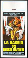 CINEMA-locandina LA RABBIA DEI MORTI VIVENTI patterson,fults,mills D.DURSTON