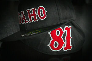 Support Idaho 81 Hells Angels Fitted Cap (Tackle Twill)