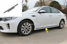 Carbon fiber Car Door Body Side Molding Cover Trim For Kia Optima K5 2016-2019