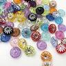 Plastic Buttons Shank Round Garment Dolls Sewing DIY Scrapbookings 12MM PT261