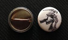 """Marauder - Battletech - 1"""" Pinback Button Pin - Mechwarrior - Buy 2 Get 1 Free"""