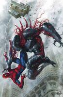 Spider-Man #1 (RARE Luico Parrillo Virgin Variant Cover, Marvel Comics)