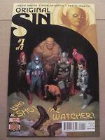 Original Sin #1 Marvel Comics 2014 Series Jason Aaron 9.6 Near Mint+