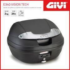 Valise / Coffre Givi Case E340 Vision Tech Universel - Noir / Cat. Fumée '