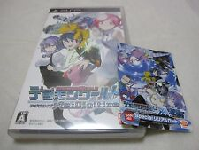 W/Tracking 7-14 Days to USA. w/Limited Card PSP Digimon World Re Digitize Japan