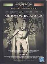 DVD - Santo Contra Las Lobas NEW El Santo Rodolfo De Anda FAST SHIPPING !