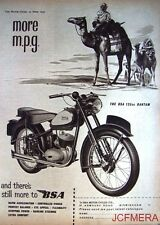1959 Motor Cycle ADVERT - B.S.A. '125cc Bantam' Print AD