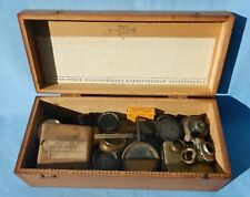 Box of Vintage Camera / Microscope Parts Lens Etc