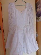 Robe de mariée courte ou de cérémonie Pronuptia femme taille 40