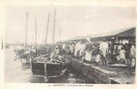 DJIBOUTI - Les quais de la Douane