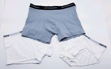New EMPORIO ARMANI Cotton Assorted Underwear Bottoms White Gray Men's XL XLarge