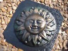 """Gostatue mold plastic mini sun  mould 4"""" x 1/3"""" thick"""