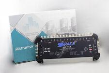 SPACE Multischalter 17/8 Teilnehmer Multiswitch PROFI-LINE Sat Verteiler 3D 4K