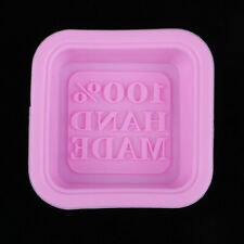 Handmade Soap Mold Cake Mould Square Silicone Molds Candy Food Baking Tools