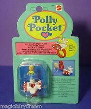 Polly Pocket Mini NEU ♥ Wee Willie's Flugzeug Ring ♥ OVP ♥ RAR ♥ NEW ♥
