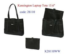 "GENUINE Kensington Women's Laptop Tote 15.6"" with Removable Sleeve,Multi Pockets"