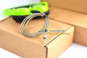 Replacement Silver Plated Audio Upgrade Cable For K450 K451 K480 Q460 Headphone