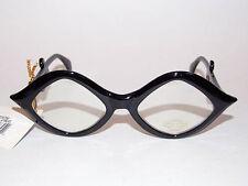 New Wave Gothic Goth Punk Mod 80s Retro Nerd Clear Lens Black Glasses Sunglasses