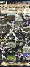2000 Chicago White Sox Media Guide with Century of Baseball on Cover