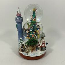 Disney Tinkerbell Lights Christmas Musical Snowglobe Open Box