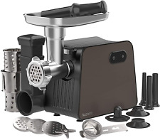 Electric Meat Grinder With 3 Size Sausage Stuffer Tubes Amp A Kubbe Kit Salad Mak