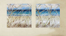 diptych Byron Bay Sea Beach Art Painting Print Canvas framed ocean Australia