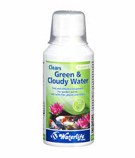 Waterlife Algizin G Pond Clears Green & Cloudy Pond Water 250ml Bottle