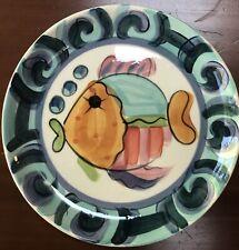 Vicki Carroll Studio Dinner Plate , Splash Splash