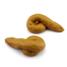 1Pcs Turd Gag Gift Realistic Fake Poop Toys Poo Joke Prank Tricky Gadget