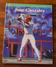 JUAN GONZALEZ HISPANICS OF ACHIEVMENT BY DENNIS R. TUTTLE SIGNED BY BOTH 13/325