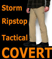 MENS UNDER ARMOUR TACTICAL STORM COVERT CARGO PANTS BROWN RIPSTOP 1262480
