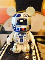"""STAR WARS VINYLMATION 3"""" R2-D2 WITH BOX SERIES 1 RARE SOLD OUT"""