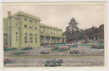 Surrey postcard - Arnold Wards, Schiff Home of Recovery, Cobham - RP
