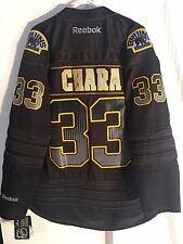 Reebok Premier NHL Jersey BOSTON Bruins Chara Black Accelerator sz L