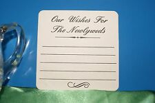 Our Wishes  for the Newlyweds coasters x 100