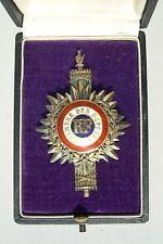 VIEIL INSIGNE CHAMBRE DES DEPUTES époque IIIe République  ( OBSOLETE ) medaille