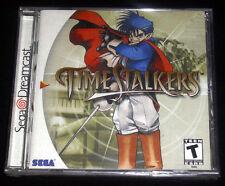 TIME STALKERS Dreamcast DC Versione NTSC Americana ••••• NUOVO SIGILLATO