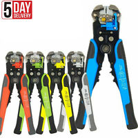 Automatic Electrical Wire Stripper Cutter Pliers Cable Crimper Terminal Tool
