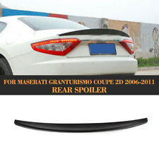 Car Rear Trunk Boot Spoiler  Wing Lip Fit for Maserati GranTurismo Coupe 06-11