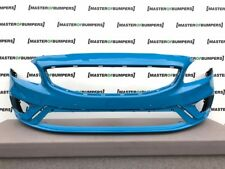 VOLVO S60 R DESIGN 2014-2018 FRONT BUMPER IN BLUE GENUINE [N72]